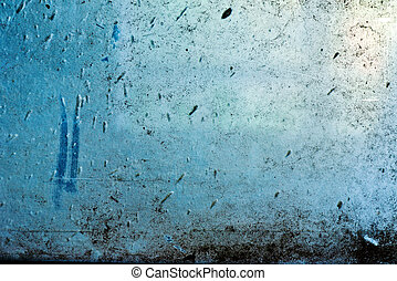Dirty glass window, image is suitable as a background for...