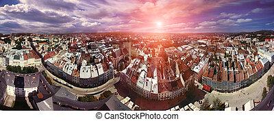 EXCLUSIVE-glued panorama Lviv - The unique EXCLUSIVE-glued...