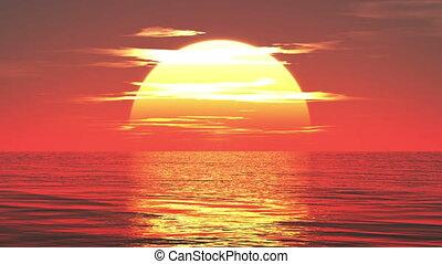 2014 and sunrise  - image of new year