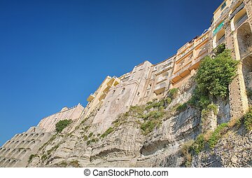 Tropea - Famous cliff in Tropea, Calabria, Italy