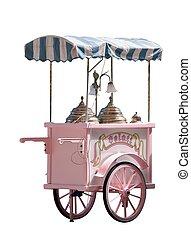 Ice cream truck - Gelato in Italy - ice cream truck