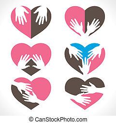 heart care symbol