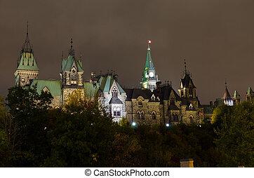 edifícios, histórico