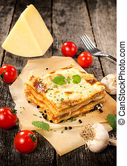 lasagne, italien