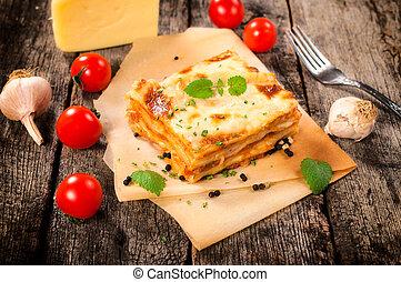 fait maison, lasagne