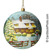 Christmas decoration Christmas ball - Christmas decoration...