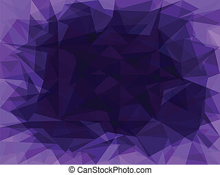 Abstract purple background with polygons