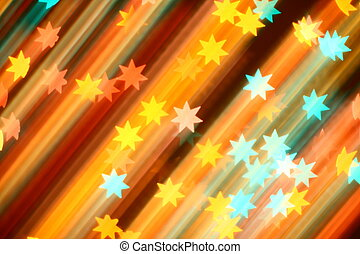 stars background - speedy motion stars - abstract blurred...