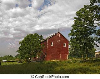 rurale, estate