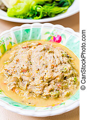 Shrimp paste dip