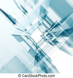 abstrakt, arkitektur, bakgrund
