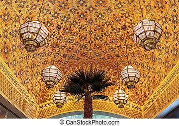 DUBAI, UAE-NOVEMBER 02: Interior IBN Battuta Mall store on...