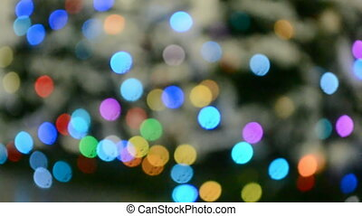 holiday rainbow round spots heap, - abstract rainbow round...