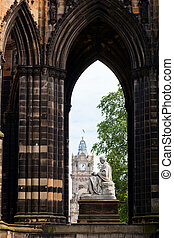 Scott Monument - Victorian gothic monument to Scottish...