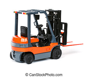 Loader isolated on a white background