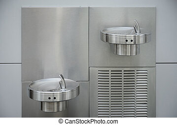 water fountain for drinking