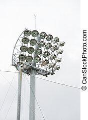 a Set of Lights for Stadium