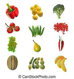 fruta, legumes