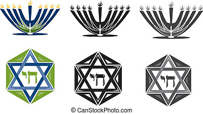 judaica - Illustrator 8 vector art