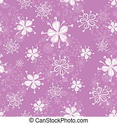 Seamless floral pattern - Abstract floral seamless...