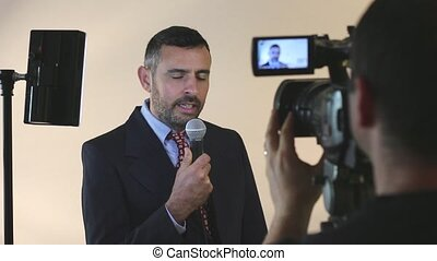 Tv reporter - Tv news reporter