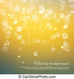 Soft abstract background with bokeh