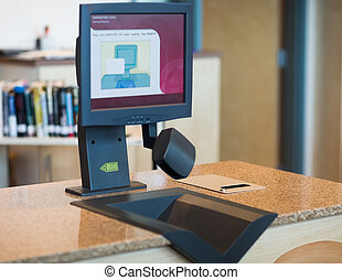 Automatic Checkout in Library