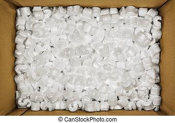 Styrofoam Peanuts - Styrofoam Packaging Peanuts Inside...