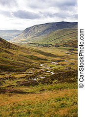 Stream through the Cairngorms - Stream through the...