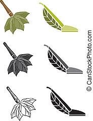 Green Cleaning - Illustrator 8 Vector art