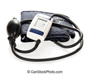 Modern tonometer for measurement of blood pressure