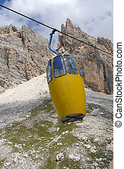 Cable Car - Dolomites, Italy