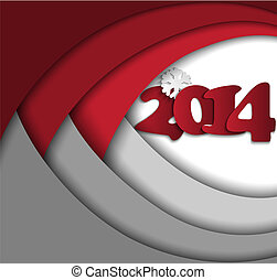 Abstract New Year's background