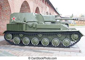 Russian self-propelled gun SU-76