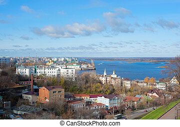 panorama of Nizhny Novgorod