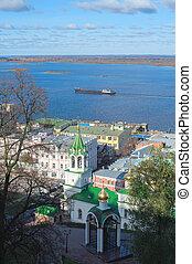 Volga Nizhny Novgorod - Volga river Nizhny Novgorod