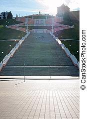 Chkalov Staircase Nizhny Novgorod