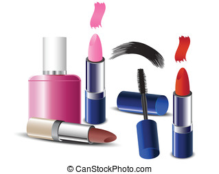 Cosmetics - 	makeup icons