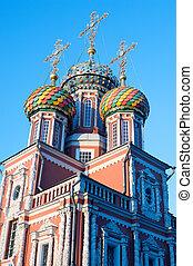 Christmas temple Nizhny Novgorod