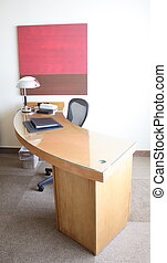 Hotel Room Desk - Desk at a luxury hotel room suite