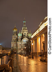Cathedral of the Savior on Spilled Blood in St. Petersburg