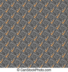 Design seamless striped spiral diagonal pattern