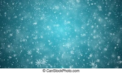 Winter New Year background