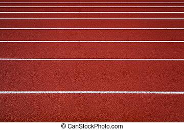 New running track, abstract, texture, background.