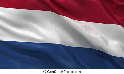 Flag of the Netherlands loop