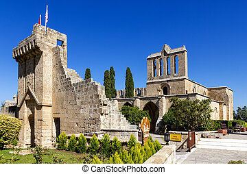 Bellapais Abbey near Kyrenia, Northern Cyprus