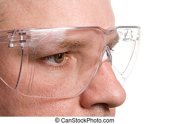 Safety Glasses - Personal protective equipment known as...