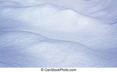 snowdrift - Background of snow