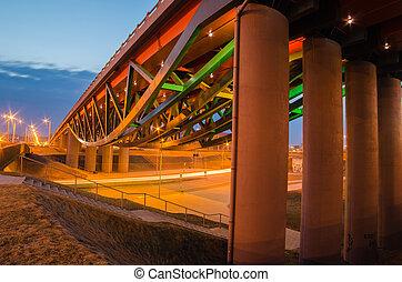 Gerosios Vilties Viaduct in Vilnius - New Gerosios Vilties...