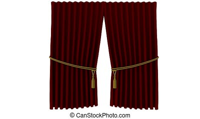curtain - opening curtain